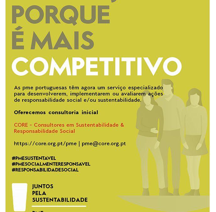 Quer seja porque é mais competitivo!